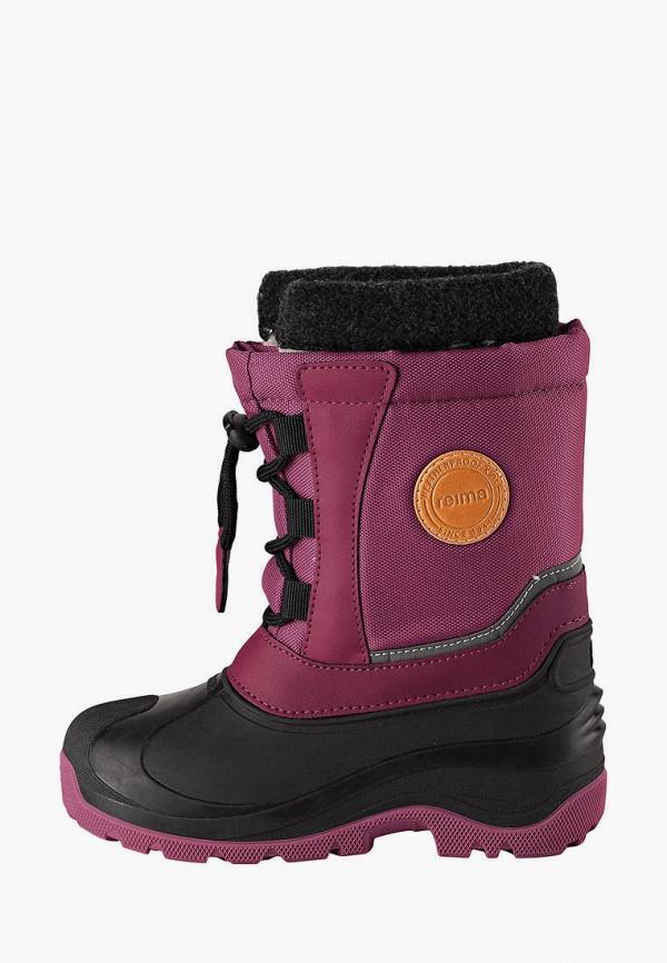 сапоги reima для девочки, фиолетовые