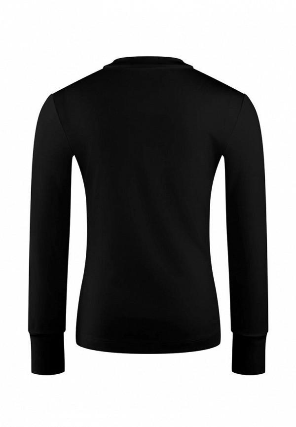 Джемпер для девочки DanMaralex цвет черный  Фото 2