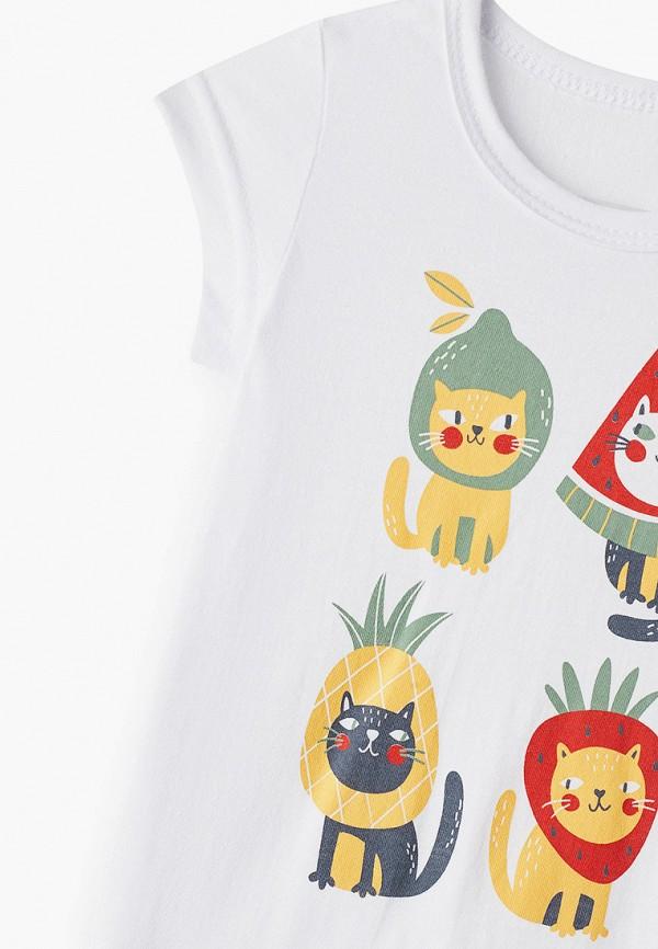 Пижама для девочки Веселый малыш цвет белый  Фото 3
