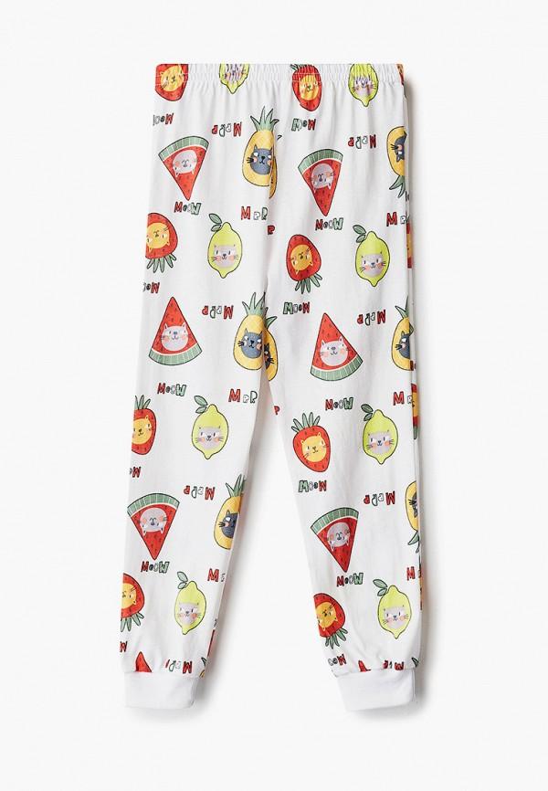 Пижама для девочки Веселый малыш цвет белый  Фото 4