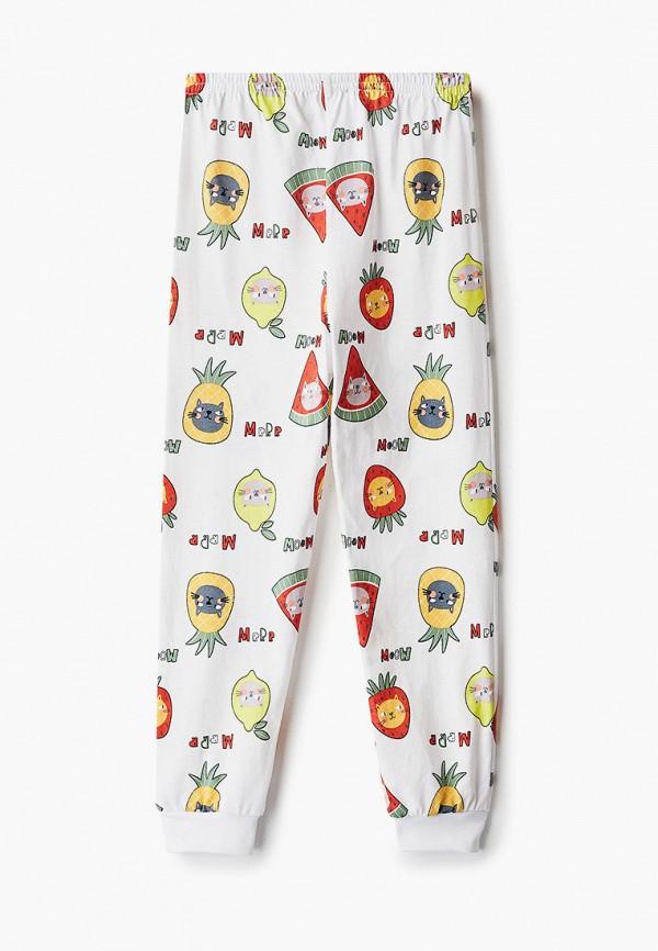 Пижама для девочки Веселый малыш цвет белый  Фото 5