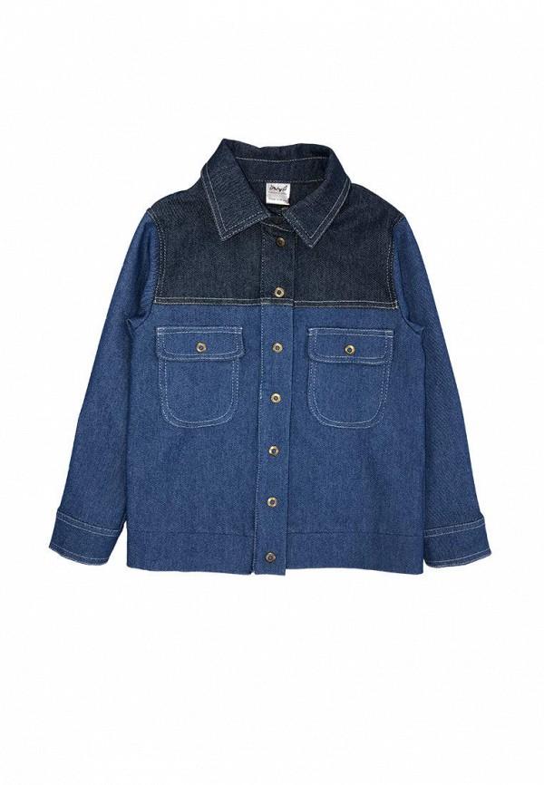 джинсовые куртка ёмаё для девочки, синяя