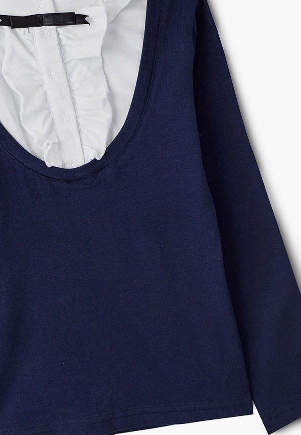 Блуза Repost цвет синий  Фото 3