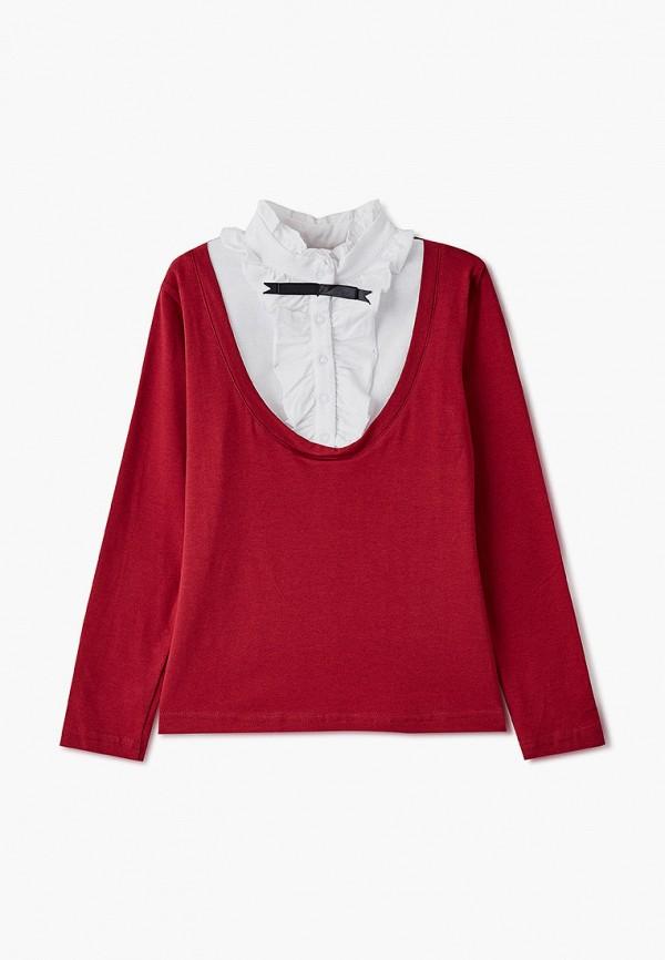 Блуза Repost цвет бордовый