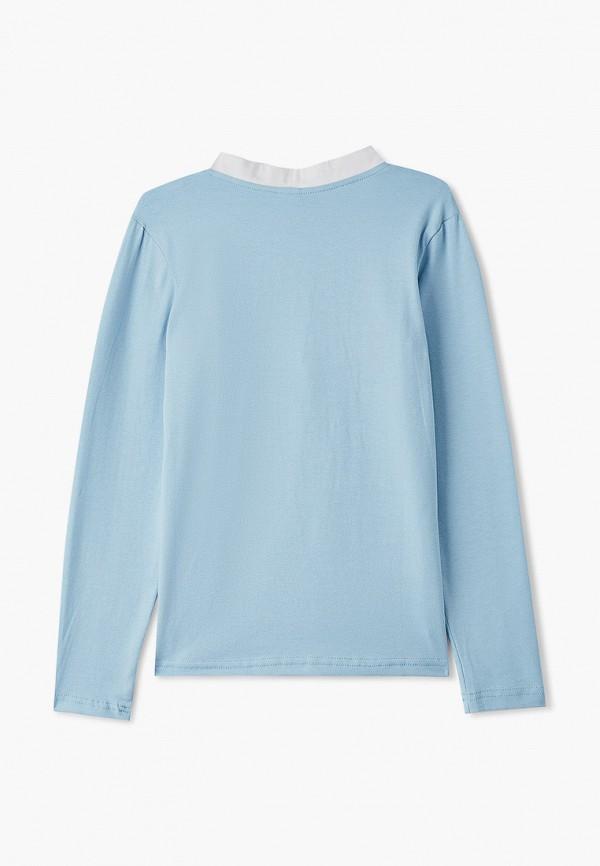 Блуза Repost цвет голубой  Фото 2