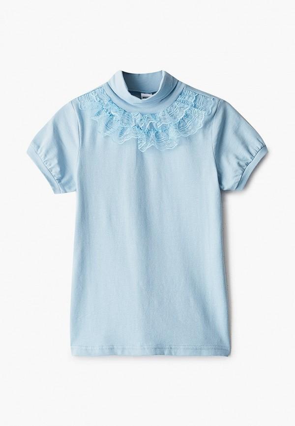 Водолазка для девочки Repost цвет голубой