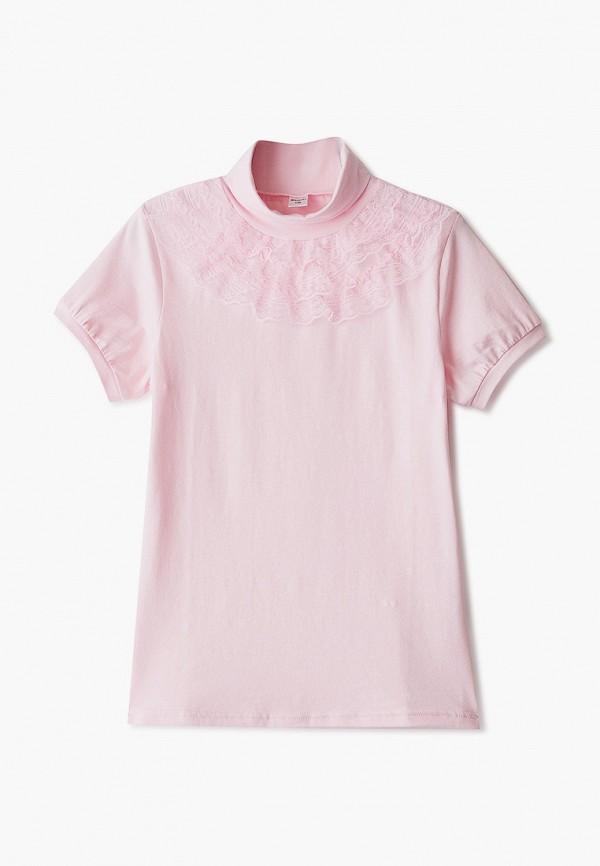 Водолазка для девочки Repost цвет розовый