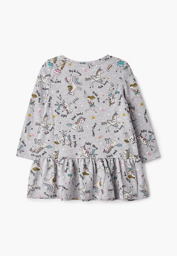 Платья для девочки Sela цвет серый  Фото 2
