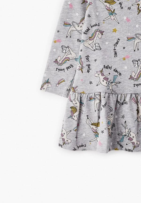 Платья для девочки Sela цвет серый  Фото 3