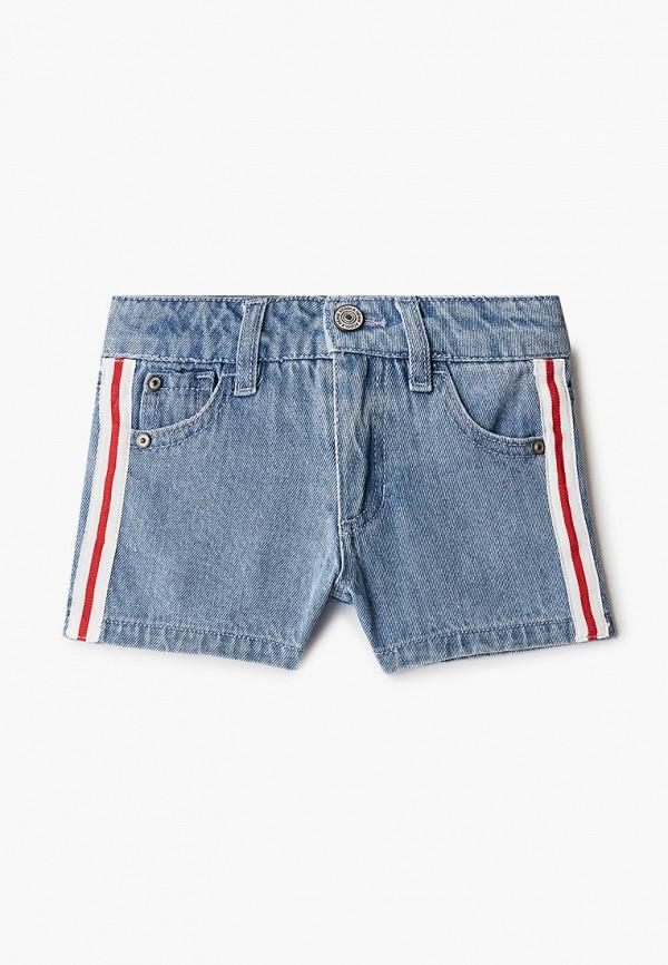 Шорты для девочки джинсовые Acoola цвет голубой