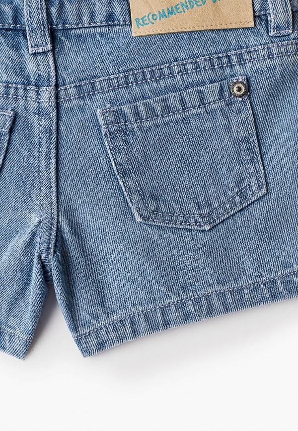Шорты для девочки джинсовые Acoola цвет голубой  Фото 3