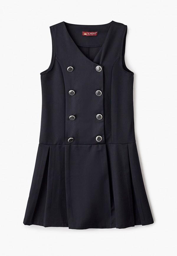 Платья для девочки Karff цвет черный