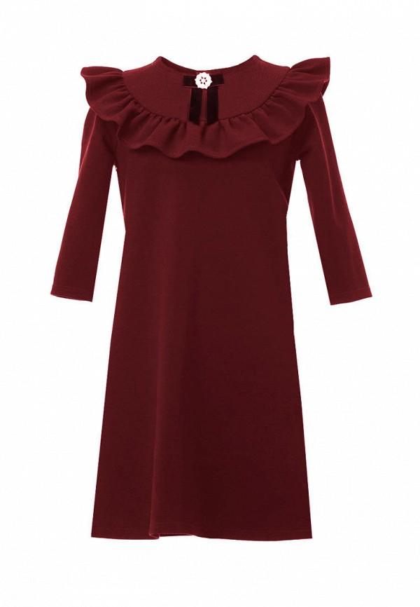 Платья для девочки FansyWay цвет бордовый