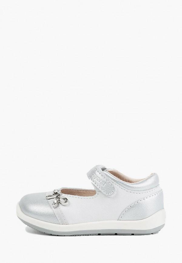 туфли mayoral для девочки, серебряные