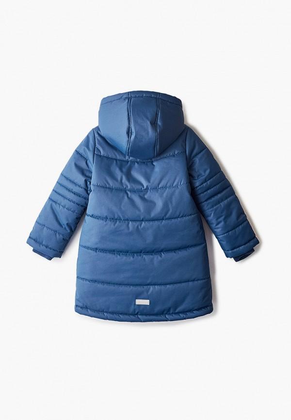 Куртка для девочки утепленная АксАрт цвет синий  Фото 2