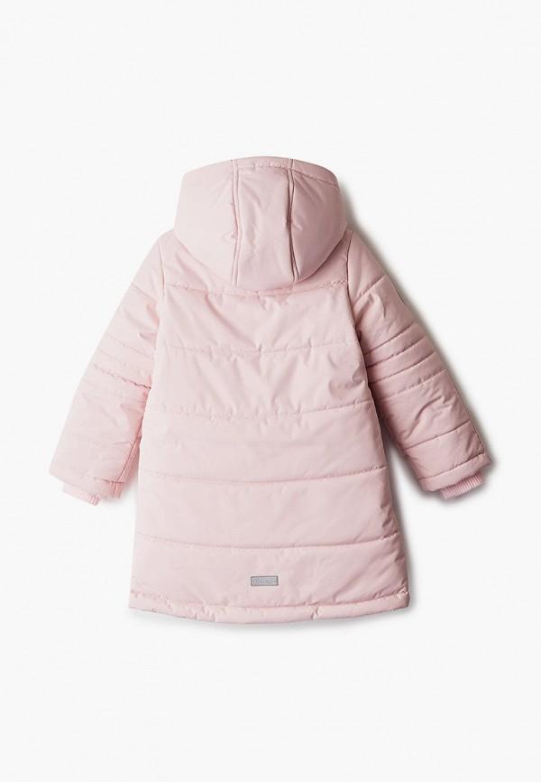 Куртка для девочки утепленная АксАрт цвет розовый  Фото 2