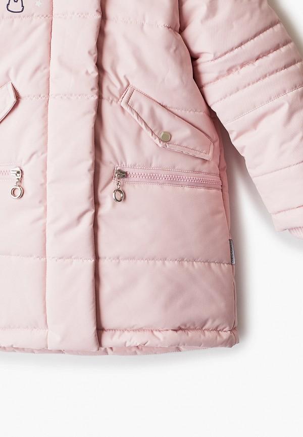 Куртка для девочки утепленная АксАрт цвет розовый  Фото 3
