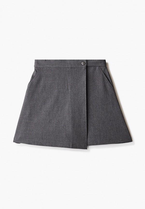 Юбка для девочки-шорты Smena цвет серый