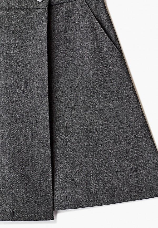 Юбка для девочки-шорты Smena цвет серый  Фото 3