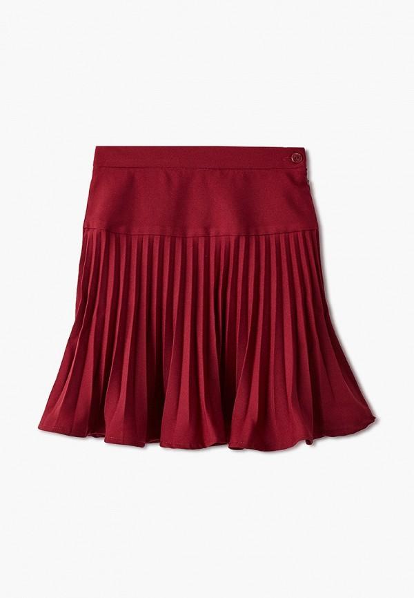 Юбка для девочки Smena цвет бордовый