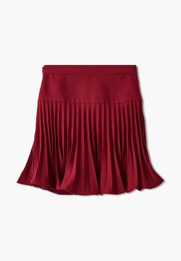 Юбка для девочки Smena цвет бордовый  Фото 2