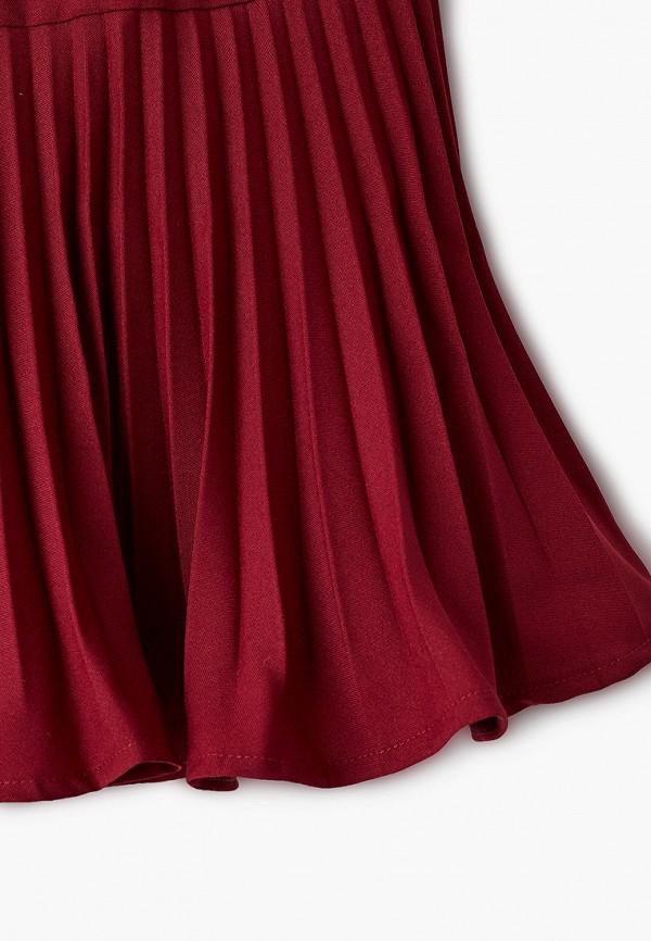Юбка для девочки Smena цвет бордовый  Фото 3