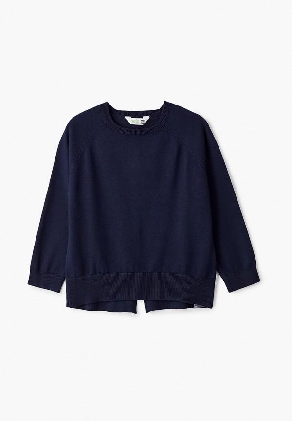 Джемпер для девочки Sela цвет синий