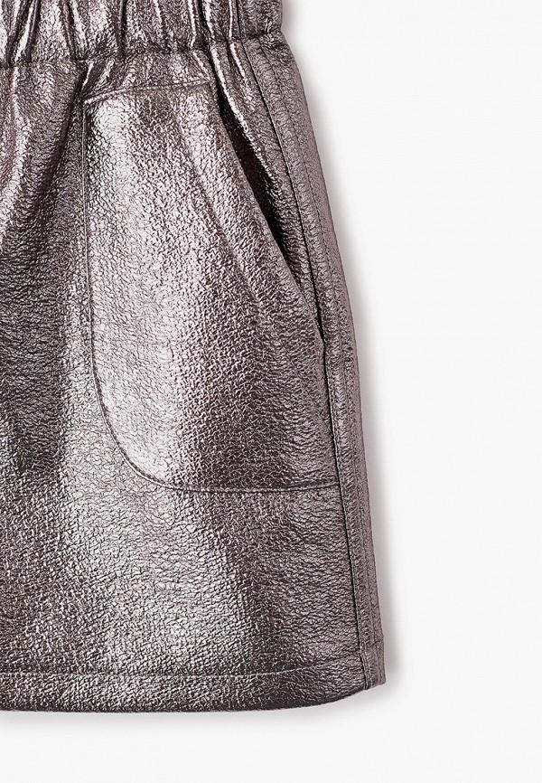 Юбка для девочки Sela цвет серебряный  Фото 3