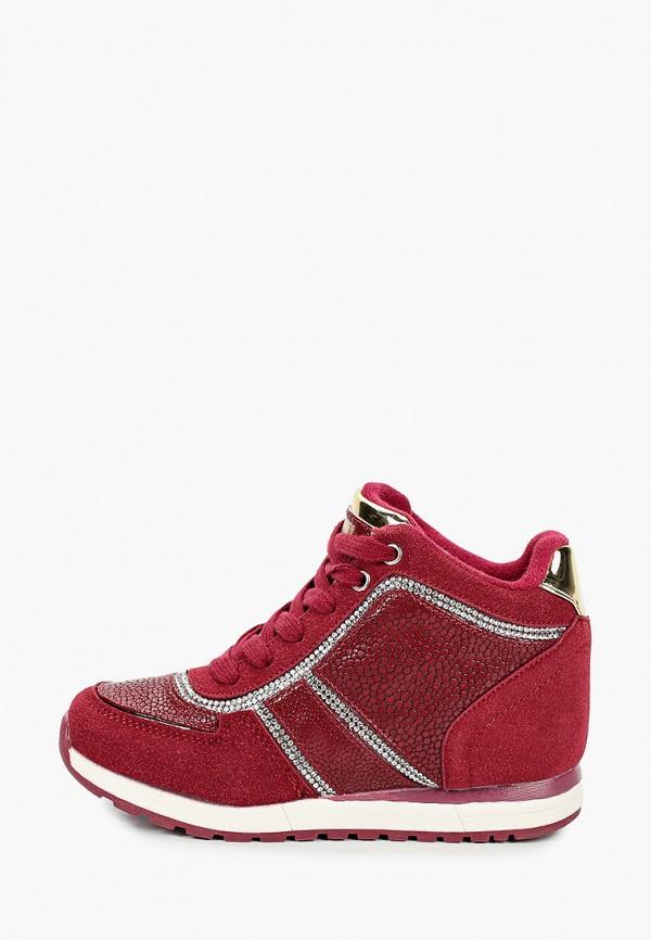 Кроссовки для девочки King Boots цвет бордовый
