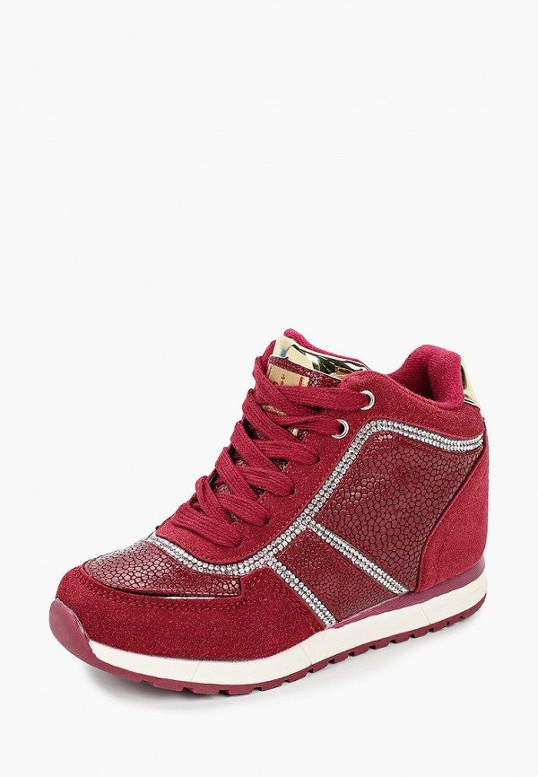 Кроссовки для девочки King Boots цвет бордовый  Фото 2