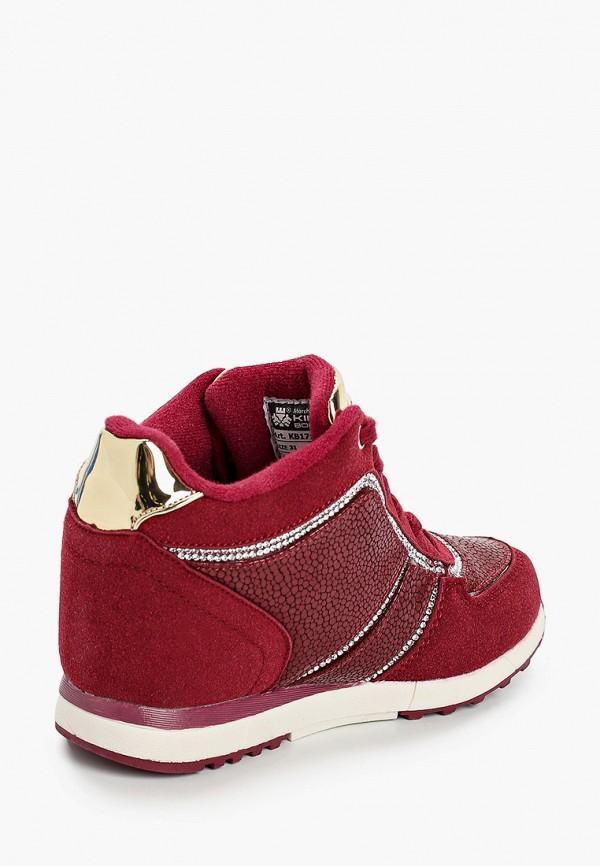 Кроссовки для девочки King Boots цвет бордовый  Фото 3