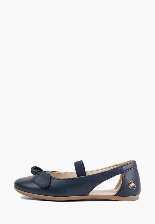 туфли mayoral для девочки, синие
