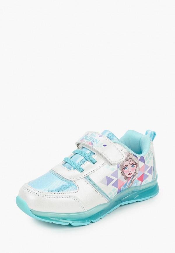Кроссовки для девочки Disney цвет белый  Фото 2