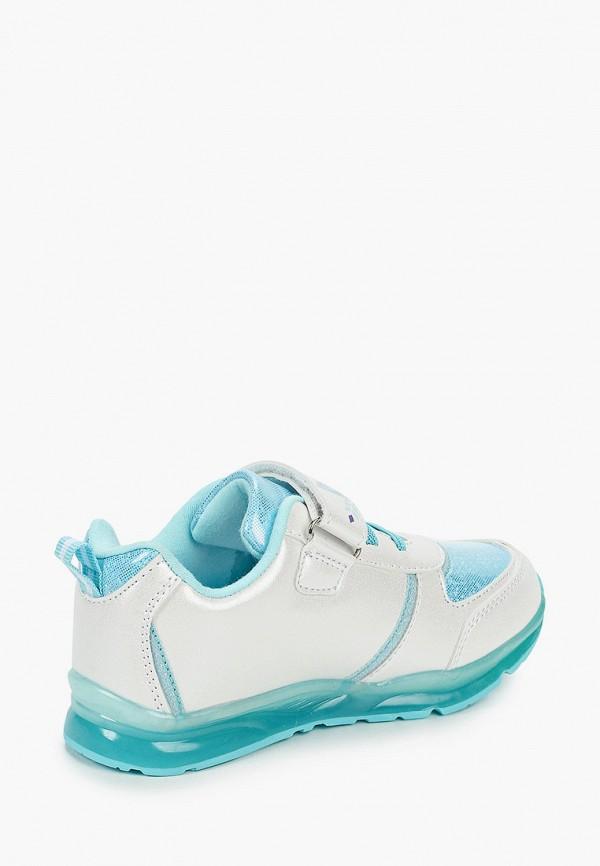 Кроссовки для девочки Disney цвет белый  Фото 3