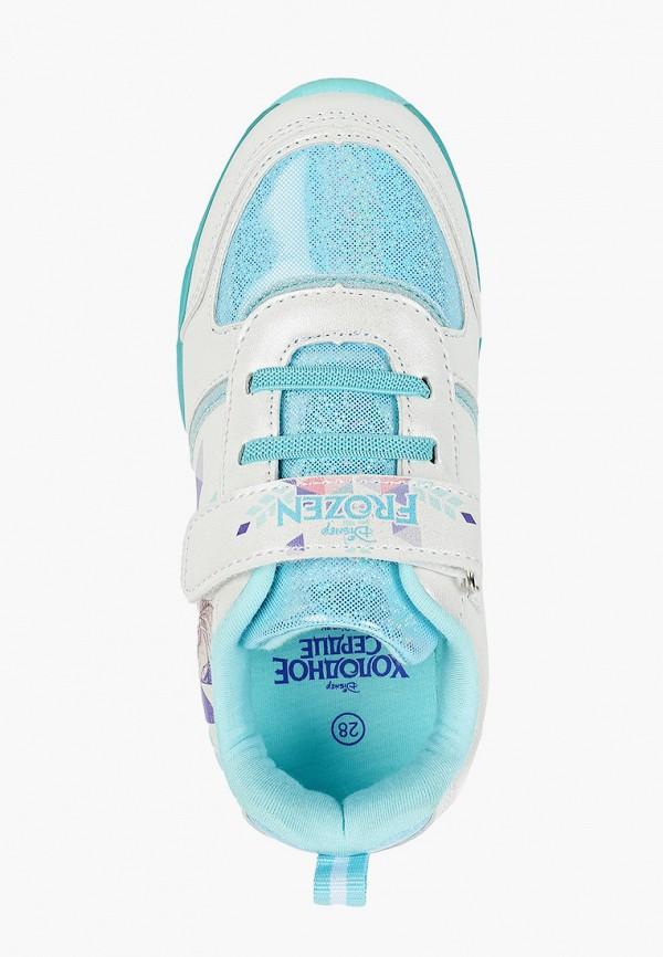 Кроссовки для девочки Disney цвет белый  Фото 4