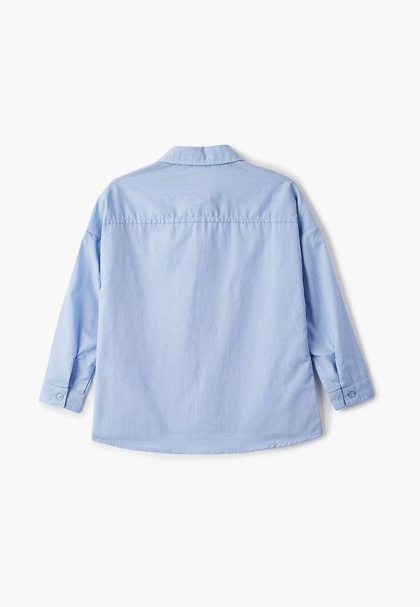 Рубашка для девочки Sela цвет голубой  Фото 2