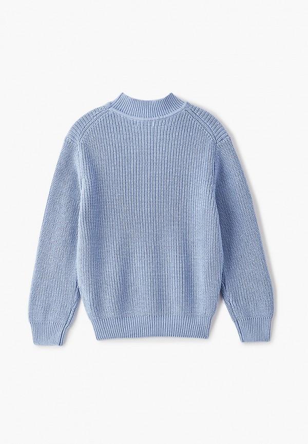 Джемпер для девочки Sela цвет голубой  Фото 2