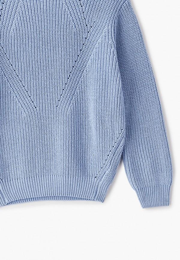 Джемпер для девочки Sela цвет голубой  Фото 3