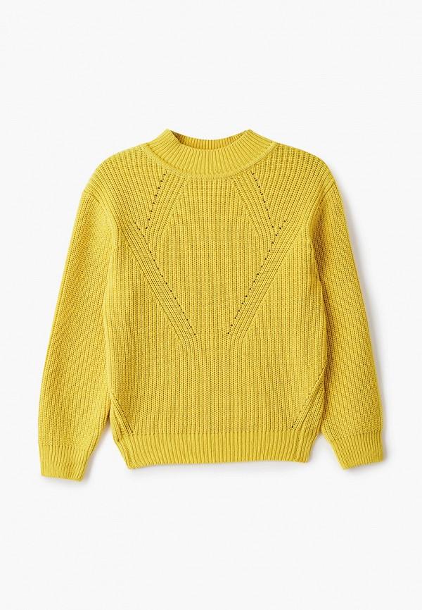 Джемпер для девочки Sela цвет желтый