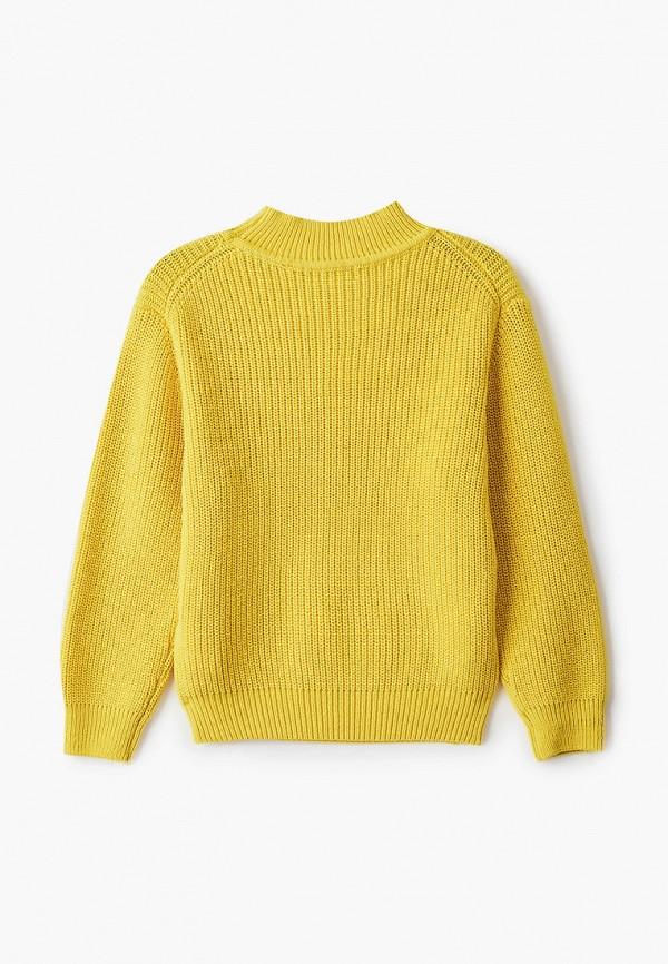 Джемпер для девочки Sela цвет желтый  Фото 2