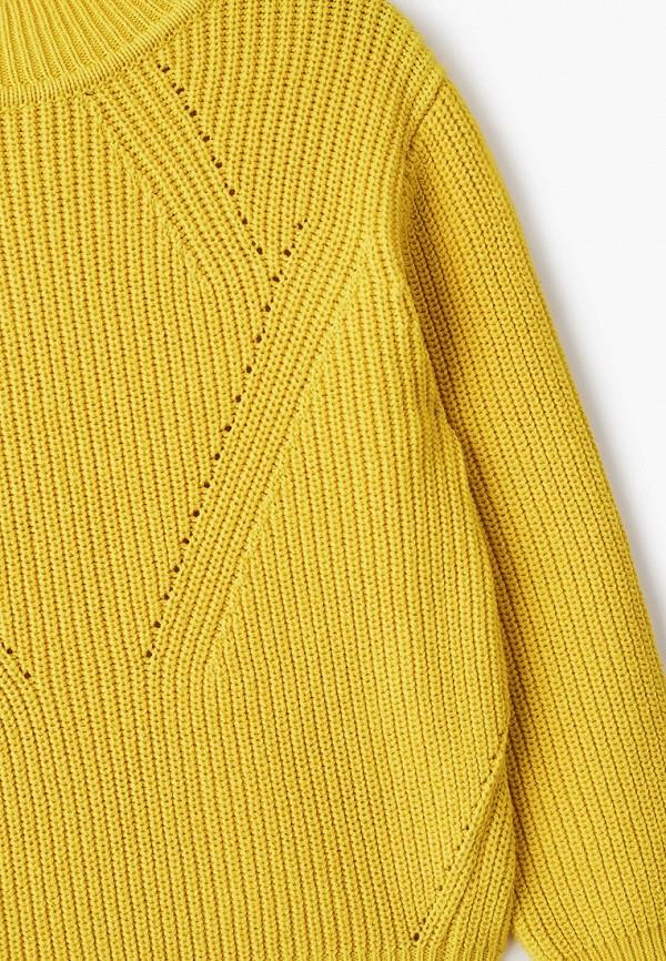 Джемпер для девочки Sela цвет желтый  Фото 3