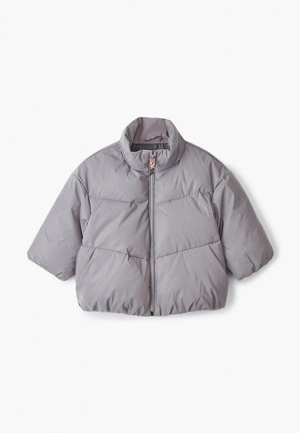Куртка для девочки Sela цвет серебряный