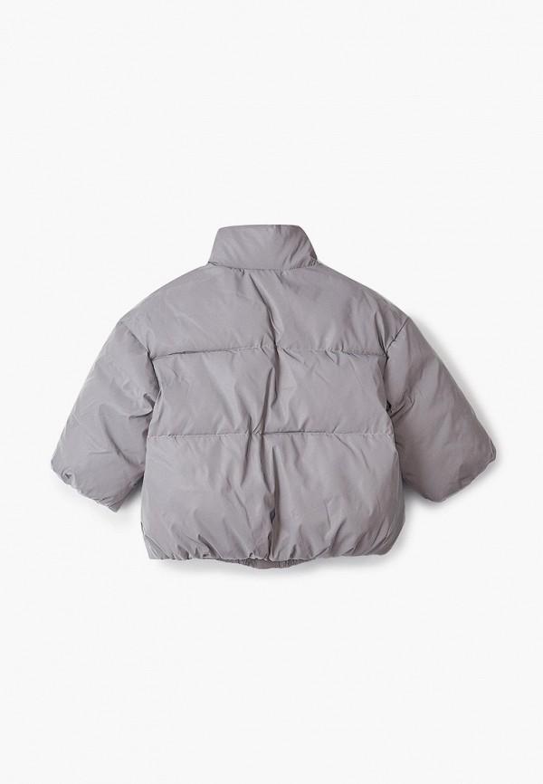 Куртка для девочки Sela цвет серебряный  Фото 2