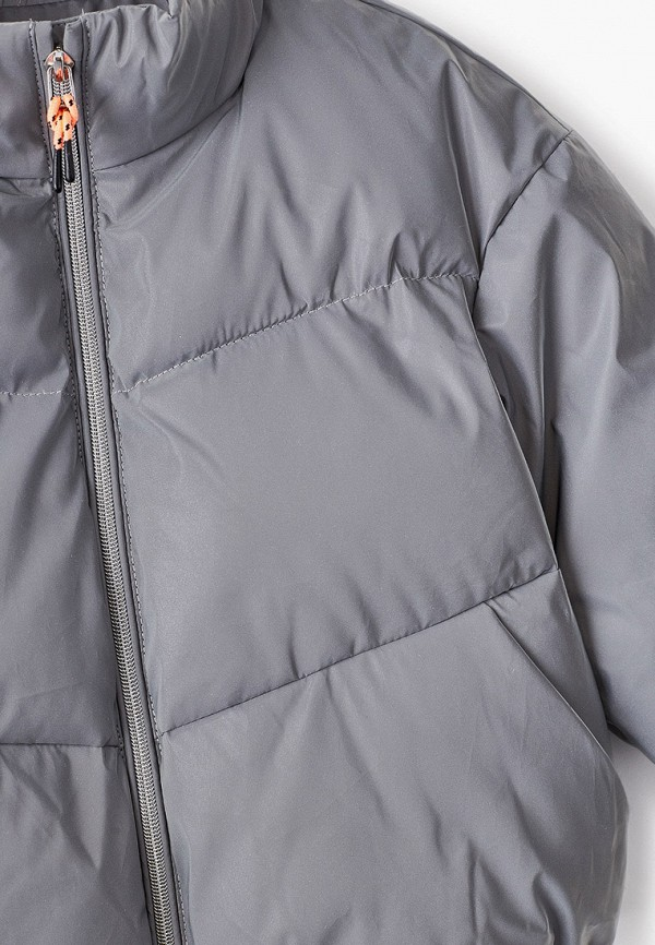 Куртка для девочки Sela цвет серебряный  Фото 3