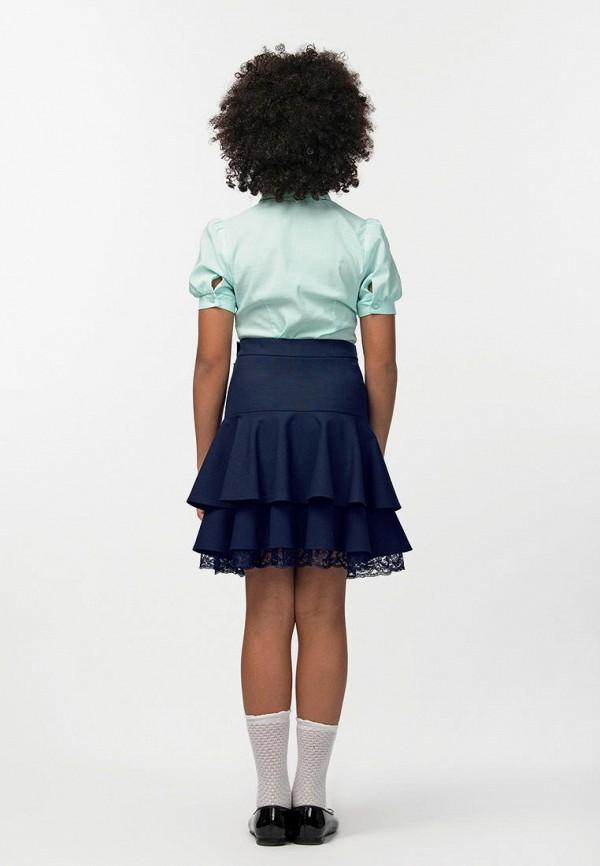 Юбка для девочки Smena цвет синий  Фото 5