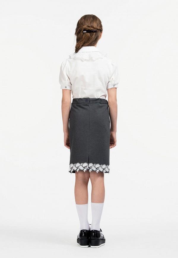 Юбка для девочки Smena цвет серый  Фото 5