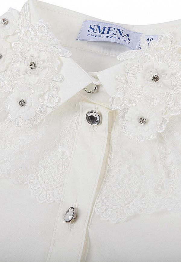 Блуза Smena цвет белый  Фото 3
