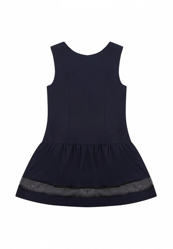 Платья для девочки Smena цвет синий  Фото 2