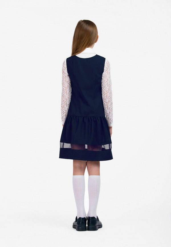 Платья для девочки Smena цвет синий  Фото 5