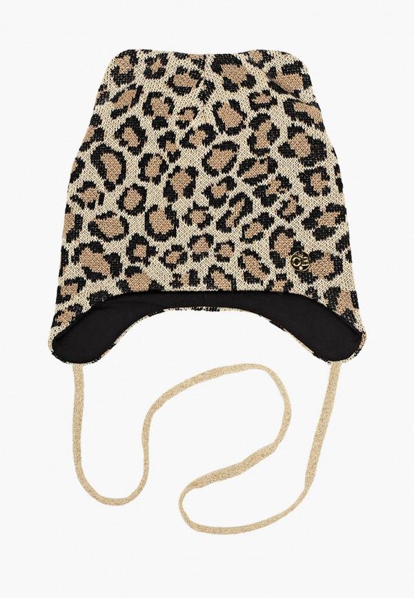 шапка artel для девочки, бежевая